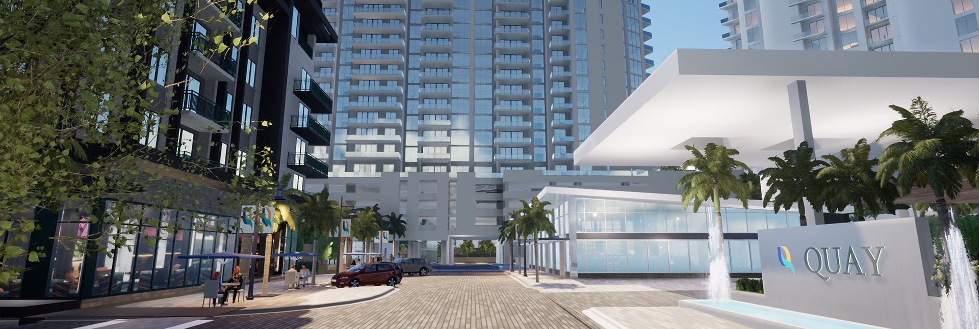 rendering of the quay sarasota